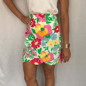 Lilly Pulitzer Garden by the Sea Scalloped Skirt